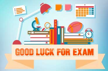 Good Luck For Exam